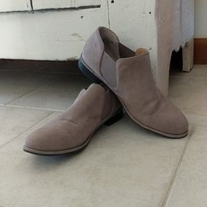Like-new suade loafers